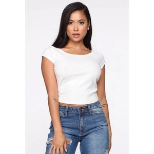 Easy To Love You Top - Off White